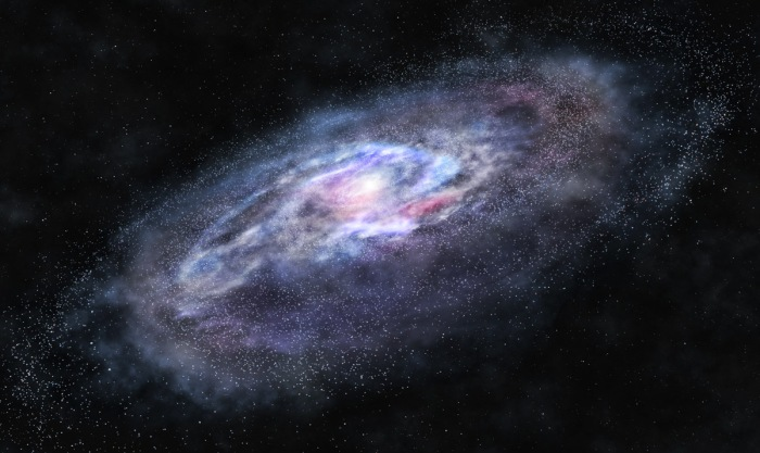 Dark Matter Milky Way Galaxy