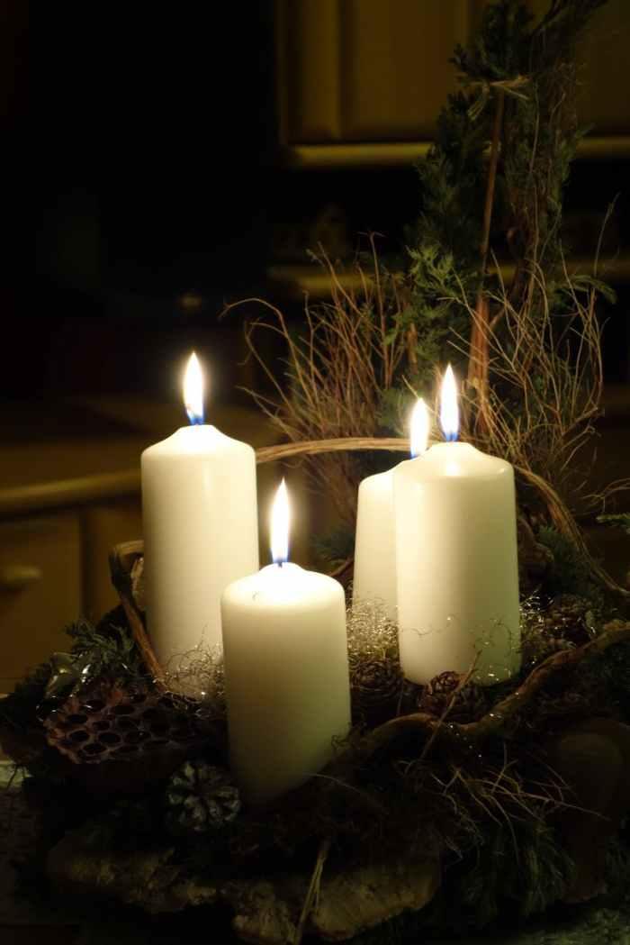 Christmas Nostalgia Advent Candles