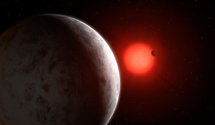 Super-Earth Planets Orbiting Red Dwarf Star