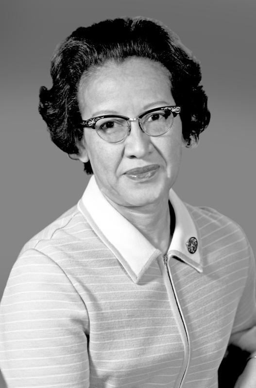 Human Computer Katherine Johnson Portrait