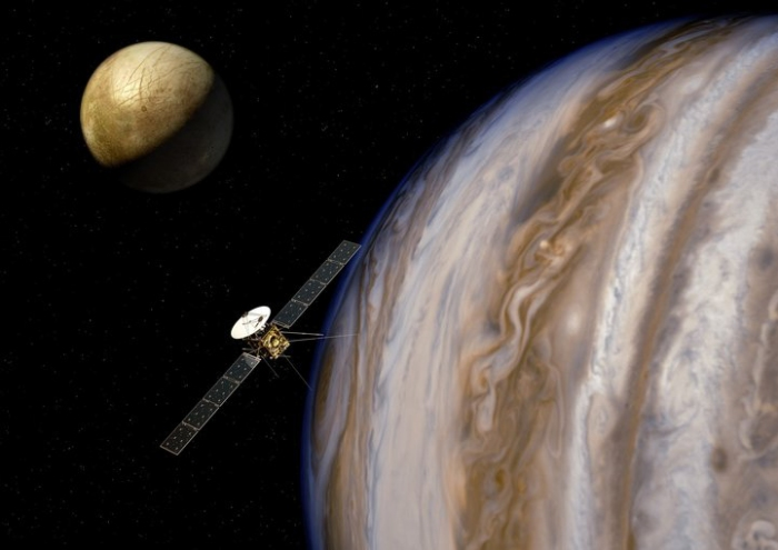 Astrobiology - JUICE Orbiter around Jupiter