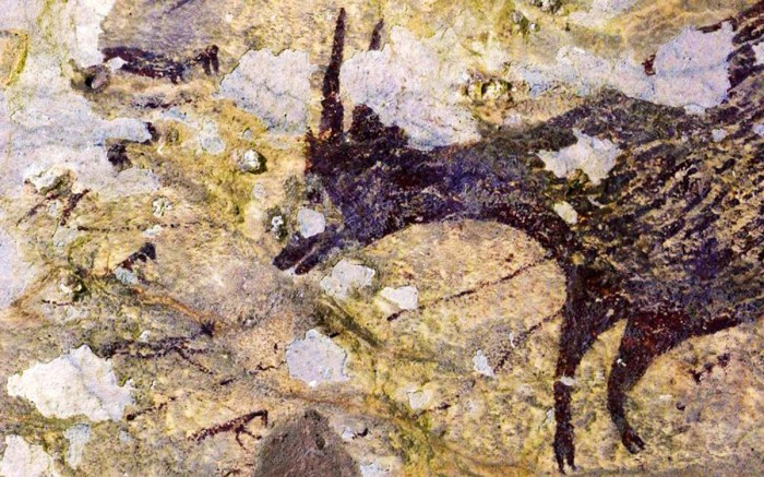 Rock Art Painting of Animal