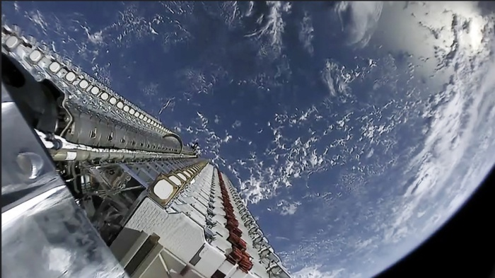 Starlink Satellite - View of Earth