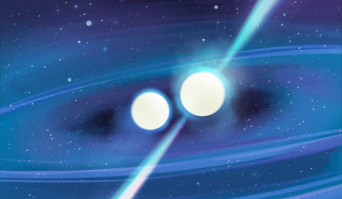 Pulsar and Neutron Star in Binary System