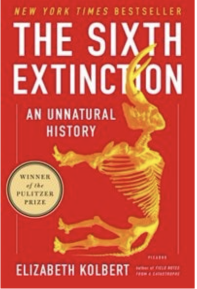 The Sixth Extinction Front Cover of Book